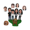 Personalized Custom Family Bobbleheads