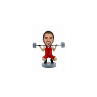 Weightlifting Custom Bobble heads