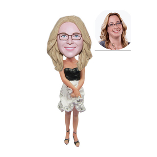 Personalized Bridesmaid Bobblehead Customize From Your Photo