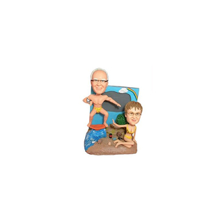 Beach Couples Bobbleheads
