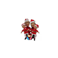 Family Christmas Gift Bobbleheads