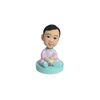 Kid Casual Bobbleheads Baby Shower Gift