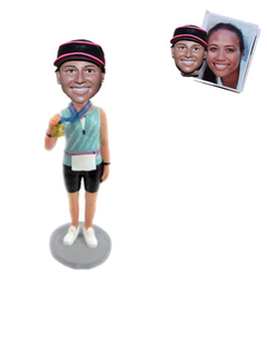 Runner Custom Bobblehead Winner
