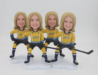 Custom Hockey Bobblehead Bulk Order