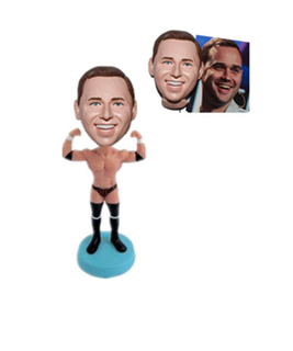 Custom Bobblehead Bodybuilder Guy Chirstmas Gift For Man