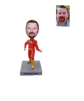 Custom Bobblehead Flash Superhero