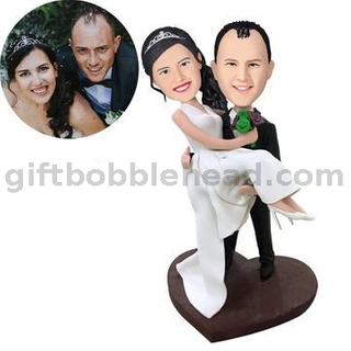 Custom Wedding Bobblehead Unique Handmade Gift