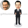 Thumbs Up Custom Bobblehead Man in Business Suit