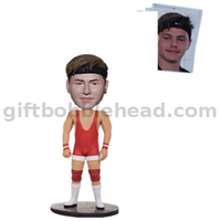 Personalized Weightlifting Custom Bobbleheads