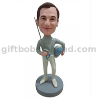 Custom Bobblehead Gift for Fancing Player
