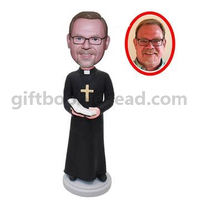 Custom Priest Bobblehead doll