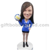 2021 Best Gift Custom Bobblehead Female Volleyball Player