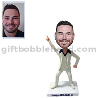 Dancer Gift Custom Bobblehead Dancing Man