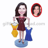 Custom Bobblehead Costume Designer Female
