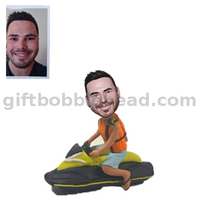 Custom Bobble Head Birthday Gift Man on The Boat