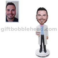 Dentist Bobblehead Custom From Photo Doctor with A Dental