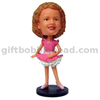 Personalized Bobblehead Dancing Girl Gift for Little Girl