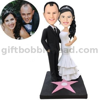 Personalized Custom Wedding Bobblehead